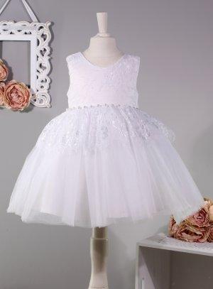 robe de baptême bébé fille pas chère blanche