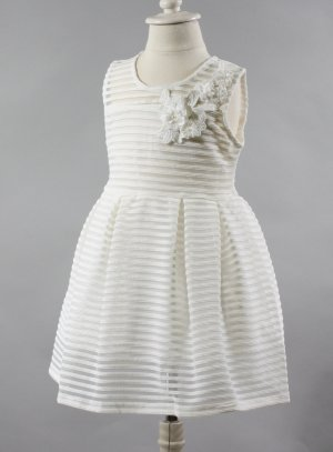 robe enfant pour mariage pas cher blanc cassé