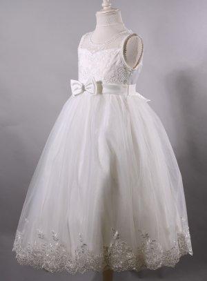 Robe de communion pas chère robe cérémonie enfant Appoline - Boutique Magique