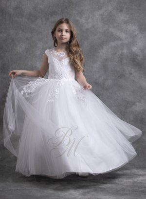 robe mariage longue enfant fille modèle princesse
