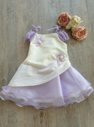 robe de cérémoniefille mauve
