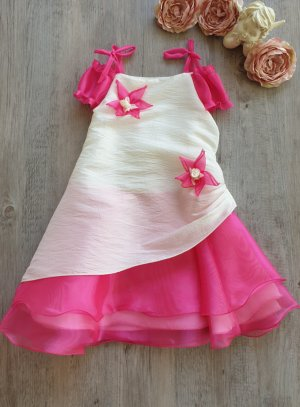 robe de cérémonie fille fushia