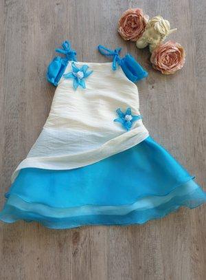 robe cérémonie fille bleu turquoise