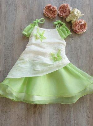robe de cérémonie fille vert anis