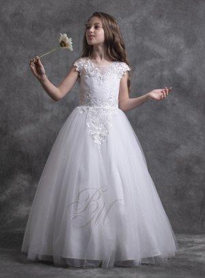 Robe mariage princesse enfant fille