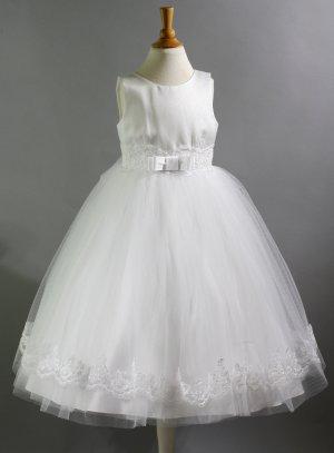 robe de cérémonie fille gamme luxe mariage baptême communion
