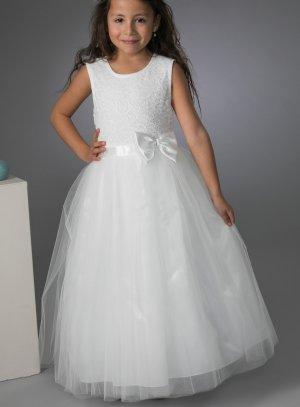 Robe paillette enfant pour mariage cérémonie