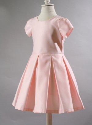 robe de cérémonie fille rose