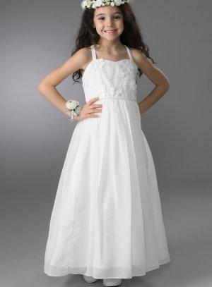 robe fille 2 - 16 ans ivoire - ecru