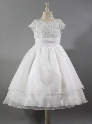robe de communion blanche ou mariage petite fille ou adolescente