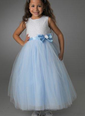 robe mariage reine des neiges enfant