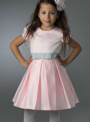 robe cérémonie fille rose