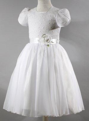 Robe de communion blanche gamme luxe