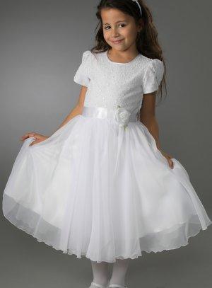 robe communion luxe pour enfant