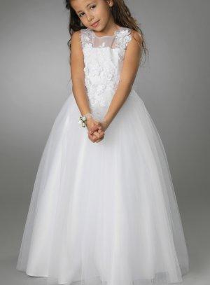 robe de communion blanche pour fille esther