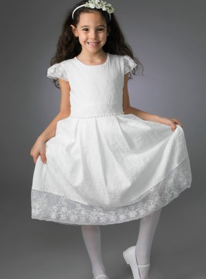 robe de communion ivoire - ecru