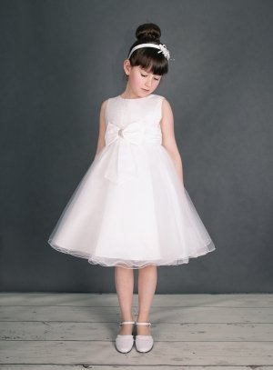 Robe de communion Katia blanche