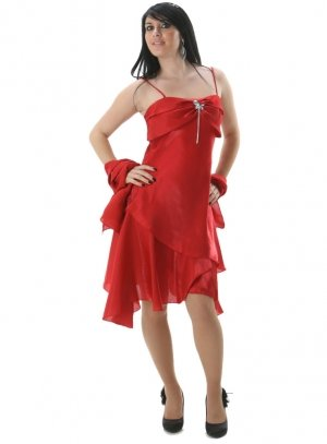 destockage femme rouge