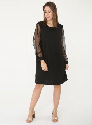 Robe de soirée femme grande taille noir