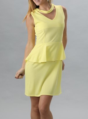 destockage femme jaune