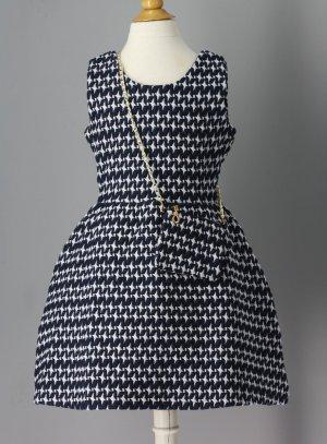 robe de soirée enfant bleu marine