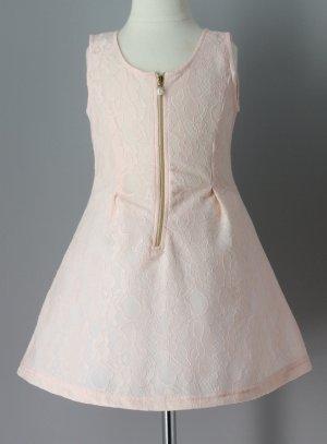robe de soirée fille ou de fête enfant rose poudre mariage anniversaire