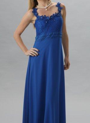 robe de soirée longue bleu roy