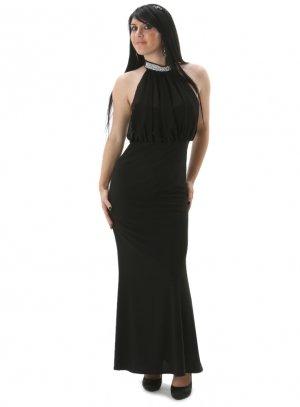 robe de soirée longue noir