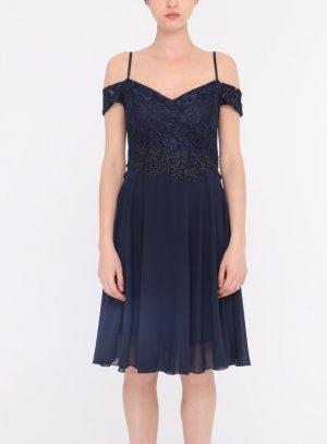 Robe mariage femme bleu marine boutique en France