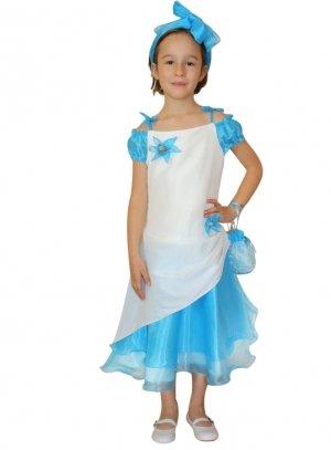 promos fille bleu turquoise