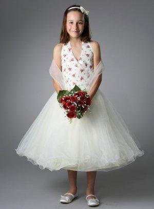 Robe de cérémonie fille pour mariage pas chère