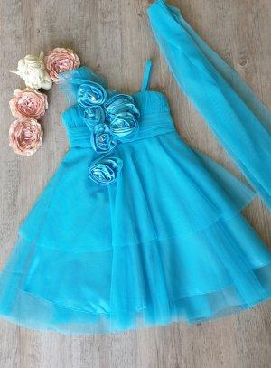 univers fille bleu turquoise