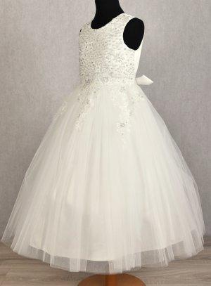 robe mariage enfant ivoire lalie