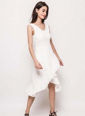 robe mariage femme blanc cassé ivoire Lucile