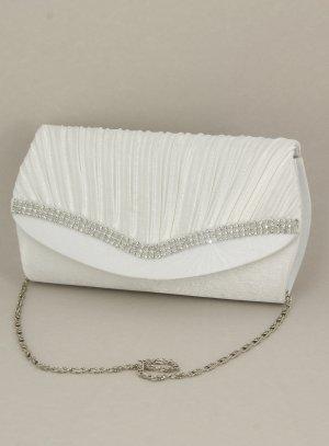 sac, pochette, bourse mariage ivoire - ecru