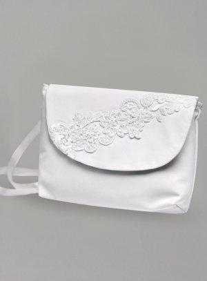 sac, pochette, bourse mariage blanc