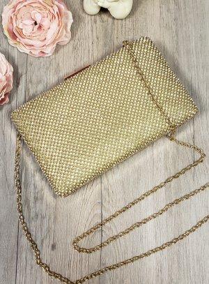 Sac clutch or strass - petit sac à main de soirée
