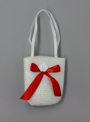 sac, pochette, bourse mariage rouge