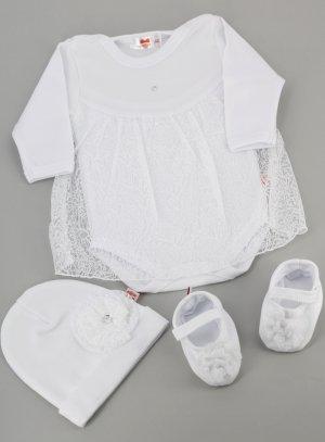 Tenue printemps été robe baptême mariage pour bébé fille