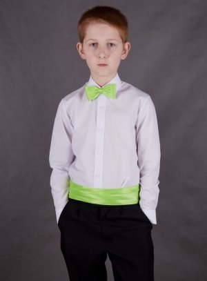 costume enfant vert anis