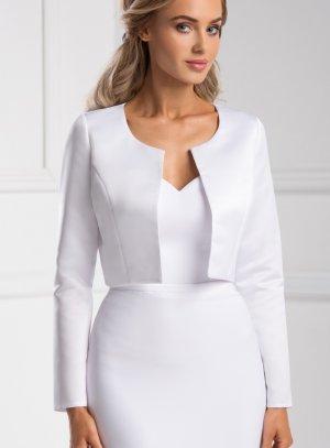veste mariage femme blanche