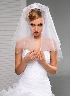 Voile mariée 3m blanc