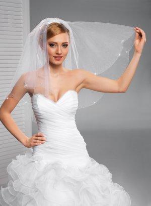 Voile mariée très long blanc
