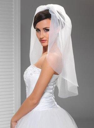 voile mariée vintage blanc