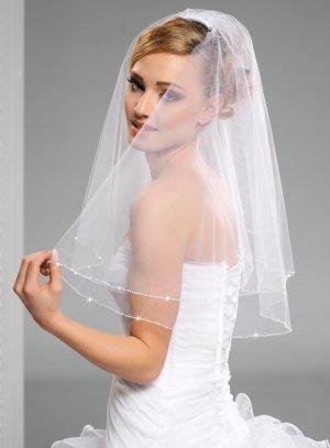 voile mariage pas cher blanc