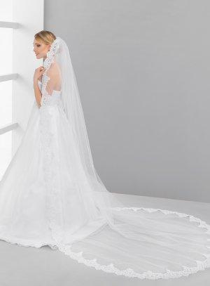 voile de mariée blanc