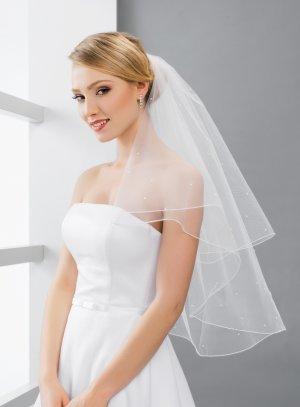 Type de voile mariage blanc