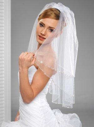 voile de mariée pas cher blanc