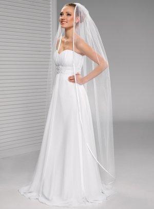 voile mariée long pas cher blanc chapelle