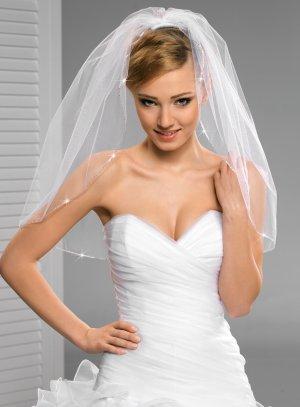voile mariée blanc